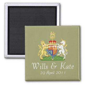 Royal Wedding Coat of Arms Magnet (Mod)