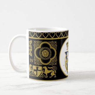 Royal Wedding Commemorative Cup Classic White Coffee Mug