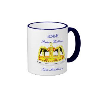 Royal Wedding Commemorative Ringer Mug