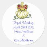 Royal Wedding Commemorative Stickers