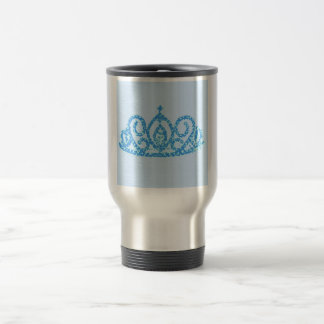 Royal Wedding Crown/Tiara Travel Mug