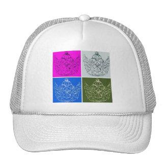 Royal Wedding Crown Trucker Hats