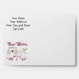 Royal Wedding Envelope