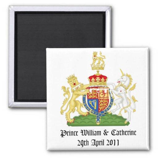 Royal Wedding Fridge Magnets