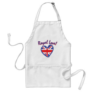 Royal Wedding Gifts/Kate & William Adult Apron