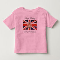 Royal Wedding Harry and Meghan Kids T-Shirt