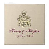 Royal Wedding Harry & Meghan Posh Gift Tile
