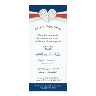 Royal Wedding House Party Invitation