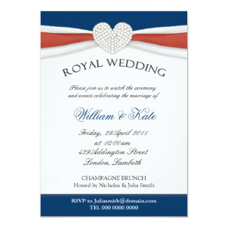 Royal Wedding House Party Invitations