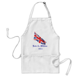 Royal Wedding /Kate and William Adult Apron