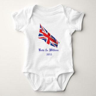 Royal Wedding /Kate and William Baby Bodysuit