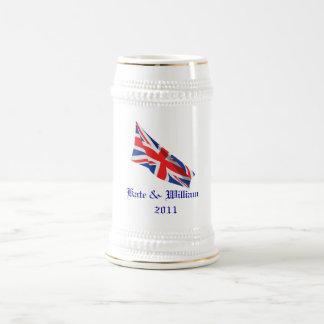 Royal Wedding /Kate and William Beer Stein