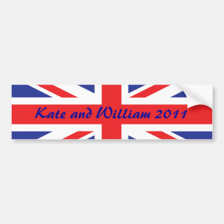 Royal Wedding /Kate and William Bumper Sticker