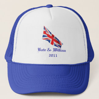 Royal Wedding /Kate and William Trucker Hat