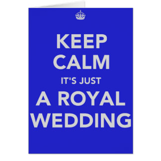 Royal wedding - Kate & William - 29th april 2011 Card