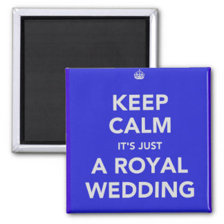 Royal wedding - Kate & William - 29th april 2011 2 Inch Square Magnet