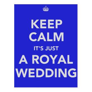 Royal wedding - Kate & William - 29th april 2011 Postcard