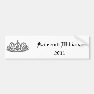 Royal Wedding/Kate & William Bumper Sticker