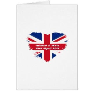 Royal Wedding - Kate & William Card