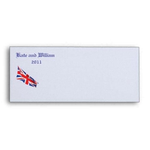 Royal Wedding/Kate & William Envelopes