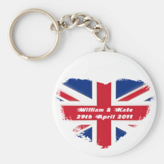 Royal Wedding - Kate & William Keychain