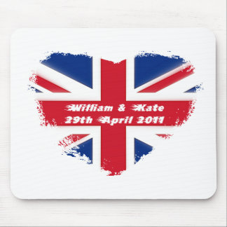 Royal Wedding - Kate & William Mouse Pad