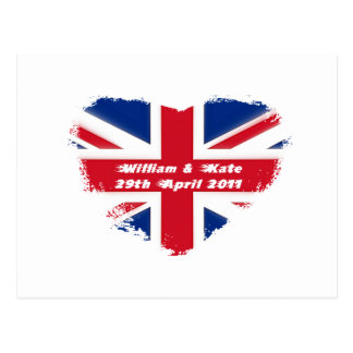 Royal Wedding - Kate & William Postcard