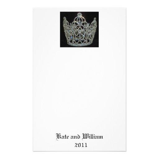 Royal Wedding/Kate & William Stationery