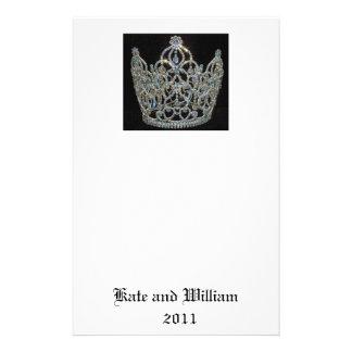 Royal Wedding/Kate & William Stationery Design