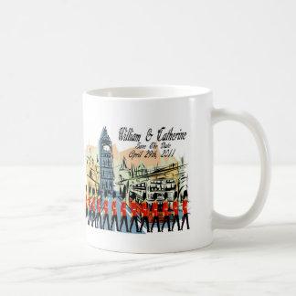 Royal Wedding March Past Big Ben Classic White Coffee Mug
