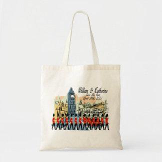 Royal Wedding March Past Big Ben Tote Bag
