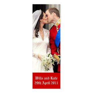 Royal Wedding Mini Business Card