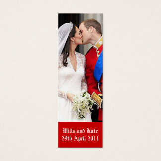 Royal Wedding Mini Business Card