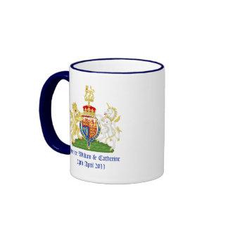Royal Wedding Ringer Coffee Mug