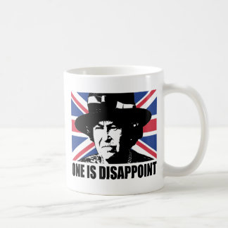 Royal Wedding: One is Disappoint (The Queen) Classic White Coffee Mug