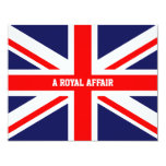 Royal wedding party Prince William Kate Middleton Personalized Invitation