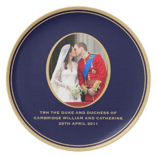 Royal Wedding Party Plates