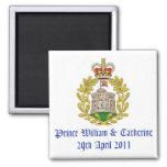 Royal Wedding Refrigerator Magnet