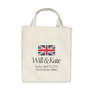 Royal Wedding Shirt Canvas Bags