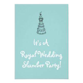 Royal Wedding Slumber Party Invitation