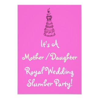 Royal Wedding Slumber Party Invite
