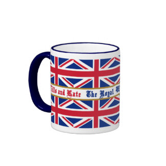 Royal Wedding Souvenir Union Jack Mug