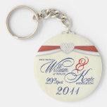 Royal Wedding Souvenir - William & Kate Key Rings Key Chains