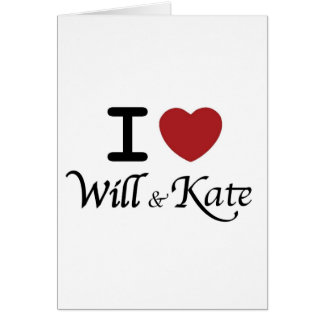 Royal Wedding Souvenirs for William and Kate Card