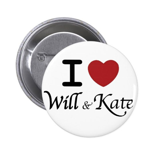 Royal Wedding Souvenirs for William and Kate Pinback Button