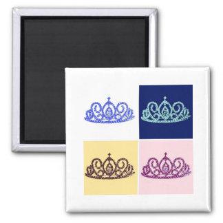 Royal Wedding Tiara Fridge Magnets