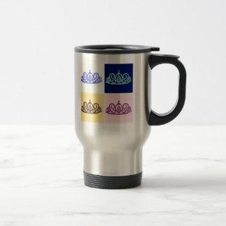 Royal Wedding Tiara Travel Mug