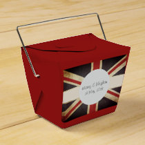 Royal Wedding Union Jack Favor Box