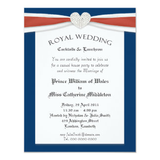Royal Wedding Watch House Party Invitations