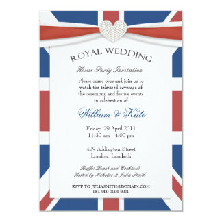 Royal Wedding Watch Party Invitations